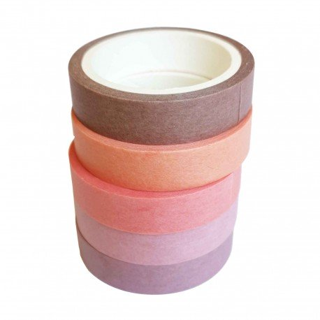 Lot de 5 washi tape Cherry Blossoms