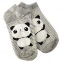 Chaussette courte Panda