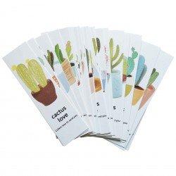 Marque page Cactus
