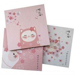 Grand carnet album Sakura Neko