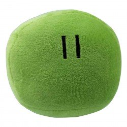 Peluche boule Dango vert
