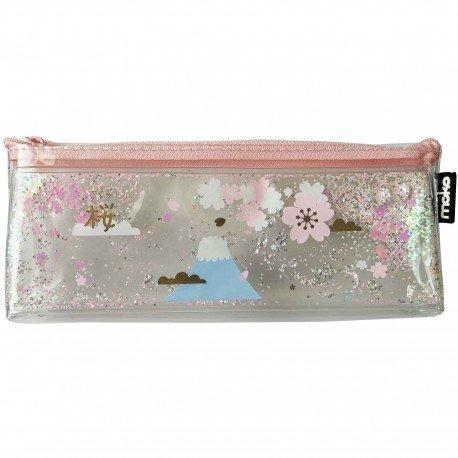 Trousse paillettes sakura