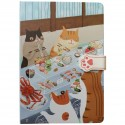 Carnet Le repas des chats