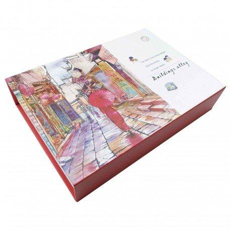 Coffret cadeau Papeterie Ruelle d'Asie