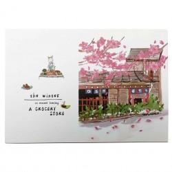 Coffret cadeau papeterie Boutique japonais