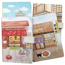 Carnet chat en voyage au Japon