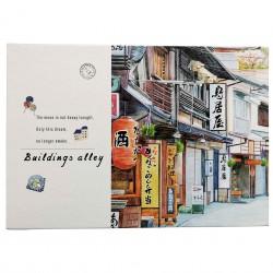 Coffret cadeau papeterie Rue japonaise