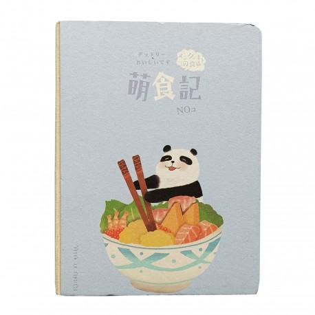 Carnet kawaii panda