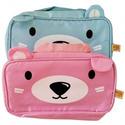 Trousse de toilette kawaii ours
