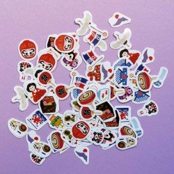 Stickers - Japon traditionnel