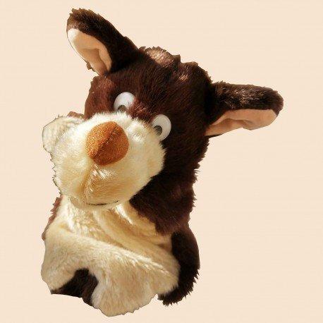 Marionette grand méchant loup