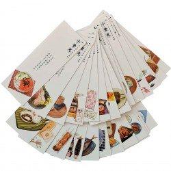 Marque page Nourriture japonais
