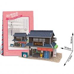 Puzzle 3D pâtisserie japonaise traditionnelle