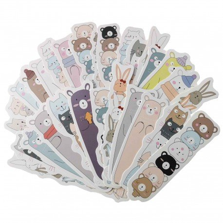Marque pages kawaii animaux