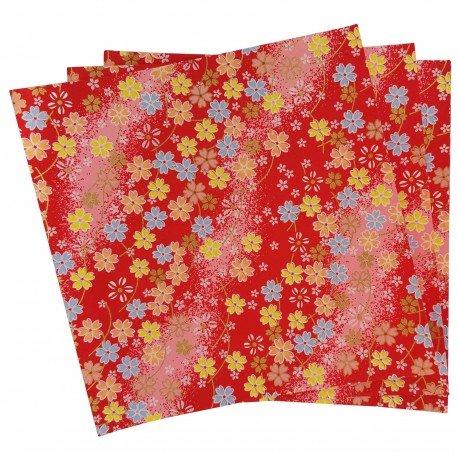 Papier Yuzen Fleurs de cerisier
