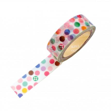 Masking tape - Petites bulles couleurs