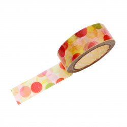 Masking tape - Bulles orange