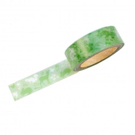 Masking tape - Forêt féerique