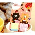 Marque pages repositionnables Deux petits chats kawaii