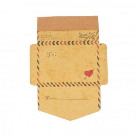 Bloc de notes - Mini enveloppe - Cupidon