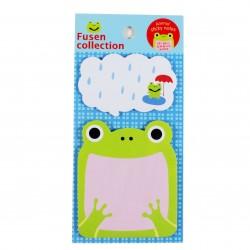 Bloc notes repositionnables Petite grenouille