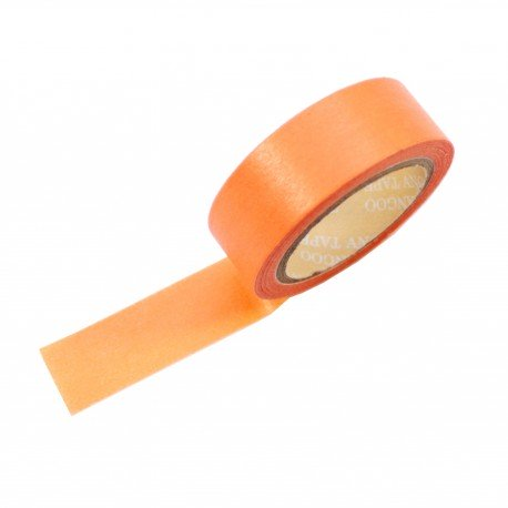 Masking tape couleur orange