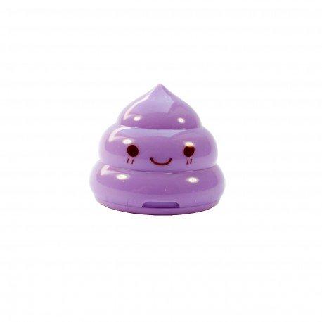 Taille crayons caca kawaii - violet