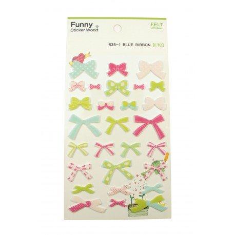 Sticker - Noeuds de papillon