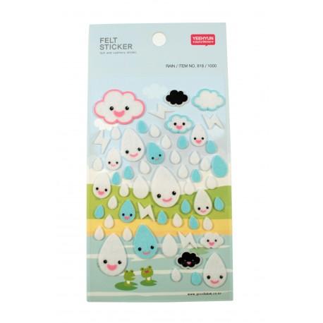 Sticker - Le temps de pluie