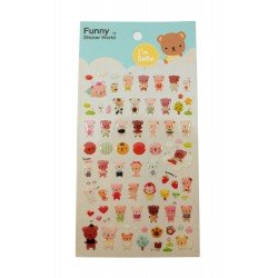 Sticker - Bebe ours kawaii