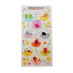 Sticker - Bubble Animals