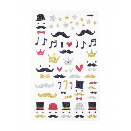 Sticker - Moustache de gentleman