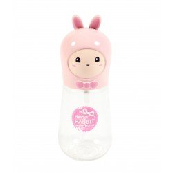 Travel bottle - Flacon de voyage 60ml - Poupée lapin rose