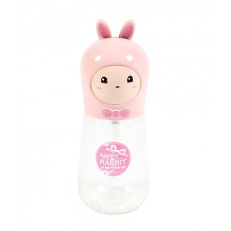 Travel bottle - Flacon de voyage 60ml - Poupée lapin rose