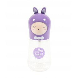 Travel bottle - Flacon de voyage 60ml - Poupée lapin violet