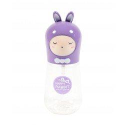 Travel bottle - Flacon de voyage 60ml - Poupée lapin violet