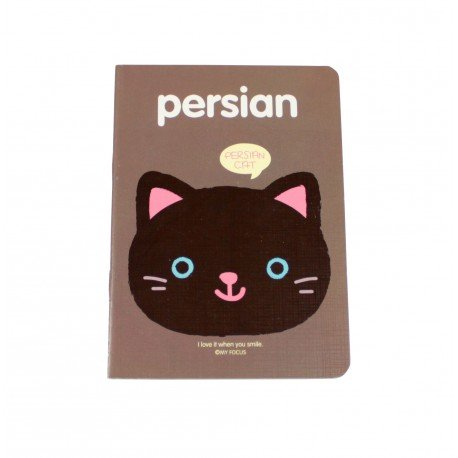 Carnet kawaii chat persian