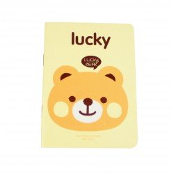Carnet kawaii lucky bear