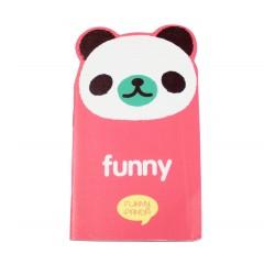 Carnet kawaii fanny panda