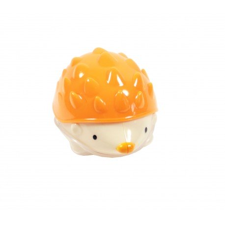 Taille crayons hérisson orange