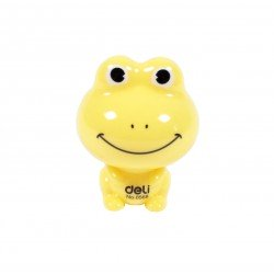 Taille crayons grenouille jaune
